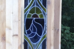 deck with stained glass window
