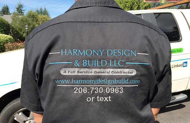 Harmony Design & Build, Raymond's Back